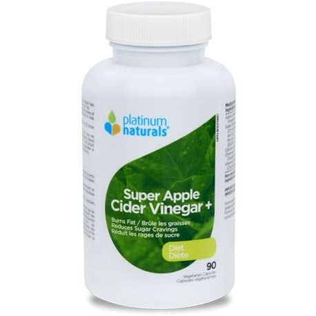 Platinum Naturals Super Apple Cider Vinegar + Diet 90 Veg Caps