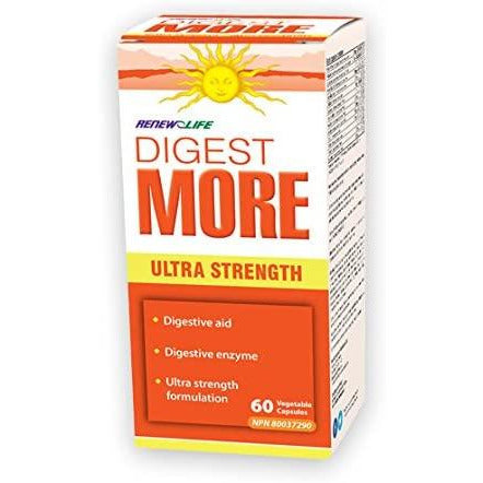 Renew Life DigestMORE Ultra 60 capsules