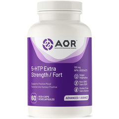 AOR - 5-HTP Extra Strength 60 Capsules - Supports Positive Mood