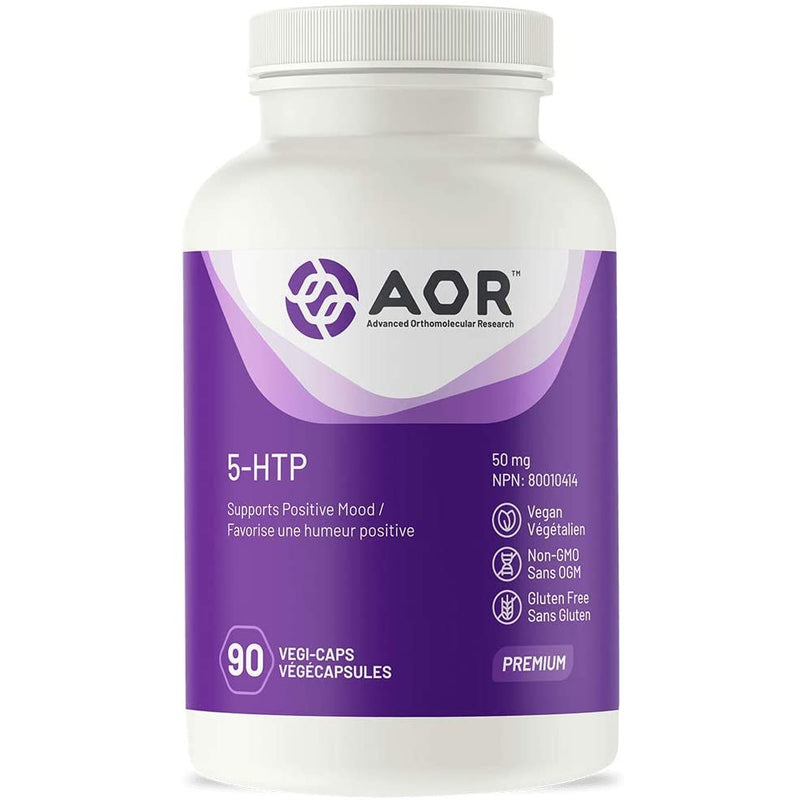 AOR - 5-HTP 90 Capsules - Supports Positive Mood