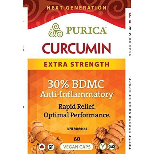 Purica - Curcumin Extra Strength 60 Vegan Caps