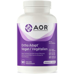 AOR - Ortho Adapt Vegan 90 Capsules - Helps The Body Cope With Stress Effectively