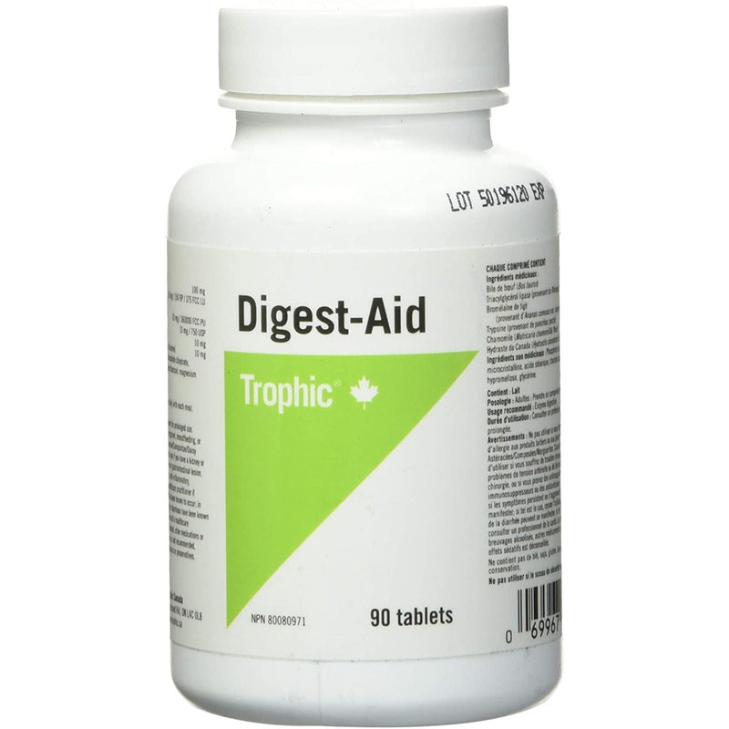Trophic Digest Aid, 90 Count