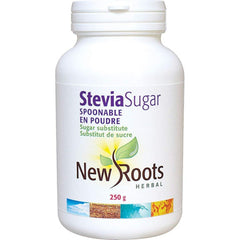 New Roots Herbal - Stevia Sugar Spoonable, 250 g - Sugar Substitute