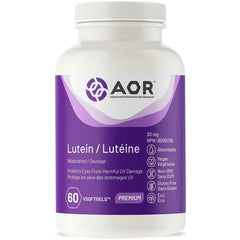 AOR - Lutein 60 Vsoftgel - Protects Eyes From Harmful UV Damage