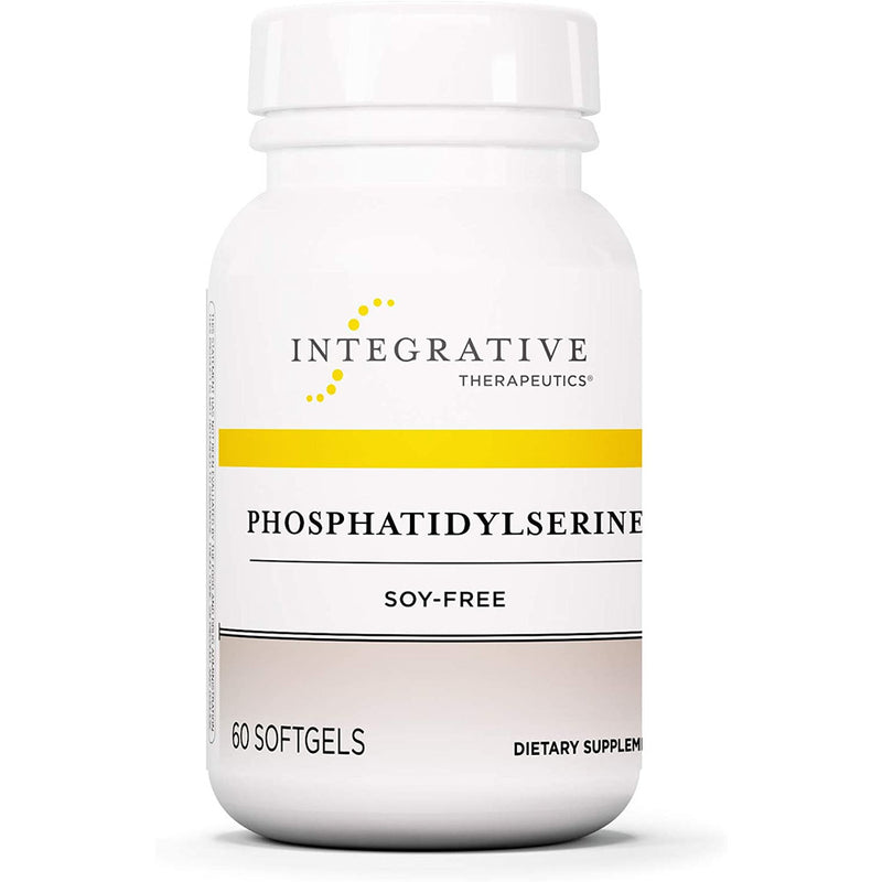 Integrative Therapeutics - Phosphatidylserine - Soy Free - Promotes Cognitive Function and Mental Sharpness - 60 Softgels