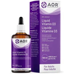 AOR - Vitamin D3 50 ml Vdrops (Adult) - Helps in the Absorption and Use of Calcium and Phosphorus