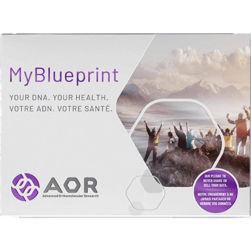 MyBlueprint™ DNA test for health and fitness. A Personalized Approach to Optimal Health Through Genetic Testing