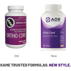 AOR - Ortho Core 180 Capsules - A Comprehensive Everyday Multivitamin