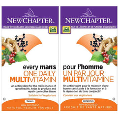 New Chapter Every Man's One Daily Multivitamin Supplements