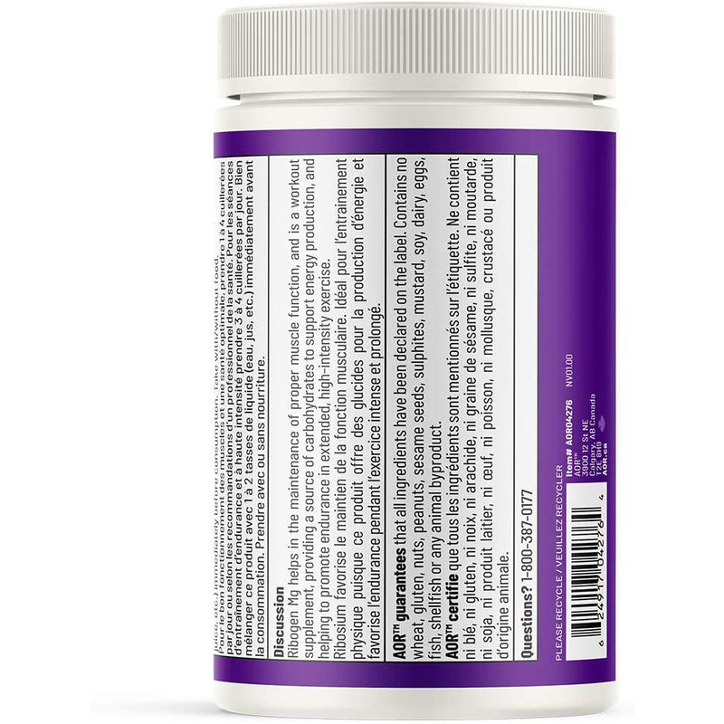 AOR - Ribogen Mg 263 g Powder - Supports Athletic Performance