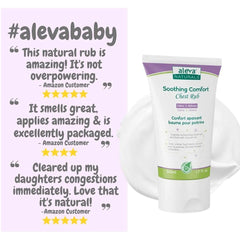 Aleva Naturals Soothing Comfort Chest Rub, 1.7 fl.oz / 50ml