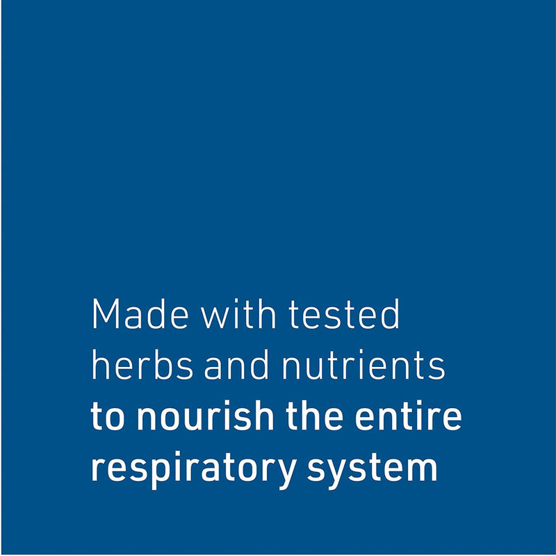 Natural Factors - Lung, Bronchial, Sinus Health, Promotes Lung Health, 45 Tablets