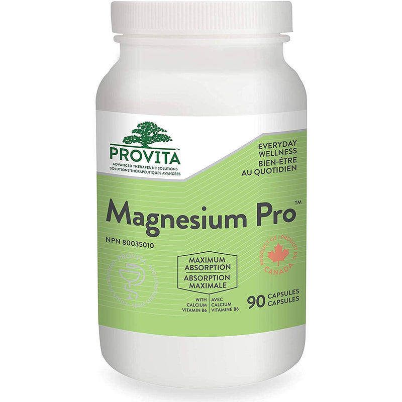 Magnesium Pro by Provita Nutrition (Canadian Made) 90 Capsules