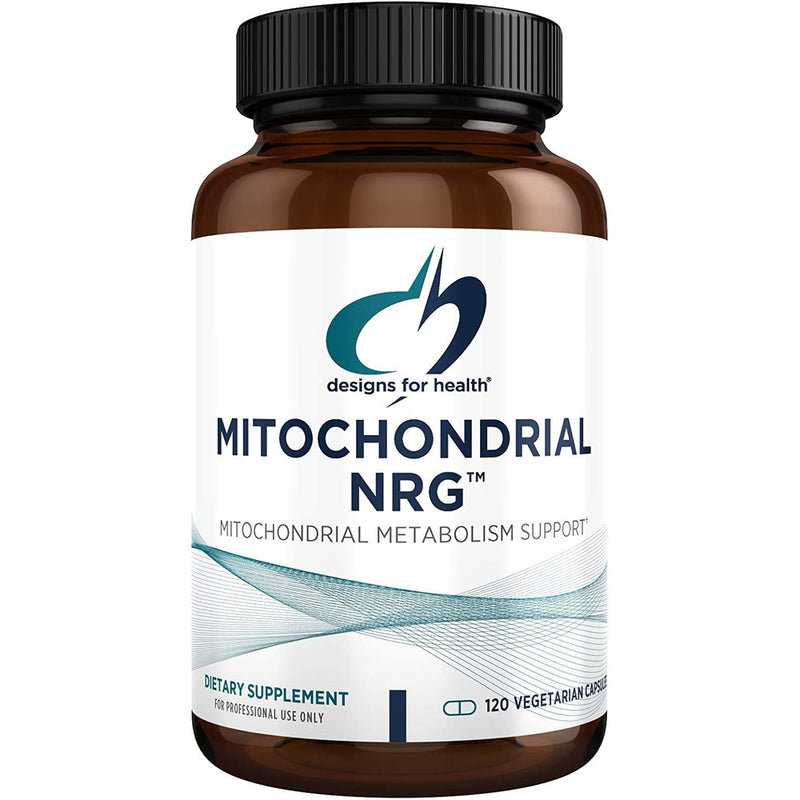 Designs for Health - Mitochondrial NRG - 120 Vegetarian Capsules
