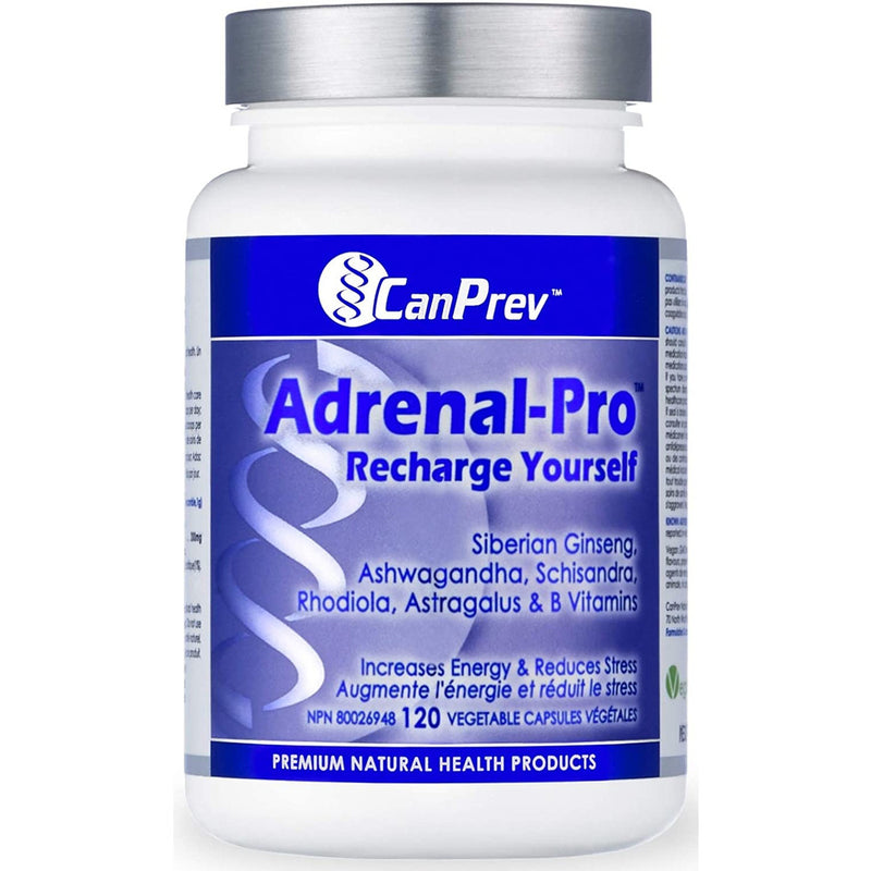 CanPrev Adrenal-Pro Recharge Yourself 120 v-caps