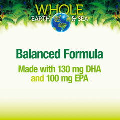Natural Factors WHOLE Earth & Sea Herring Gold 1000mg - 60 sofgels