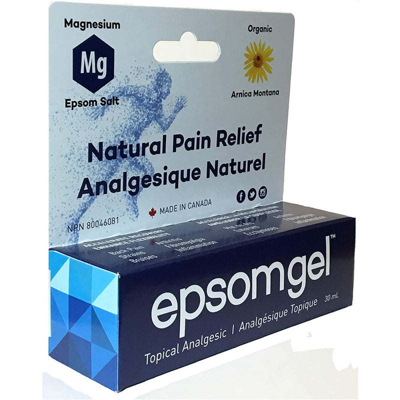 Epsomgel™ - Pain Relief Solution 30ml, 100% Natural Ingredients, Fast Acting