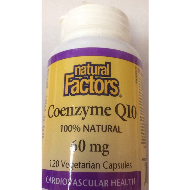 Natural Factors Coenzyme Q10 60 mg - 120 Capsules