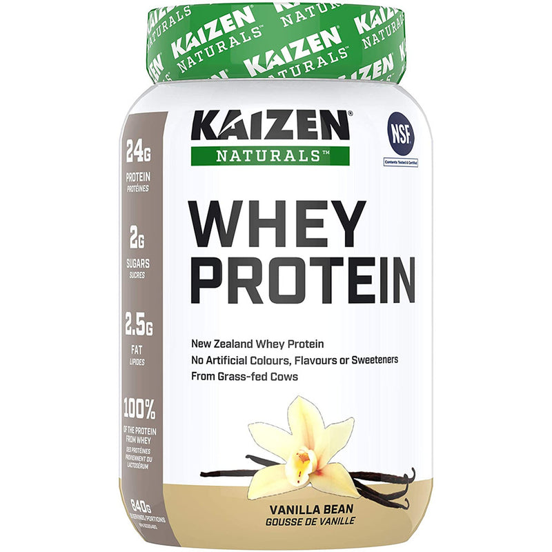 Kaizen Naturals Grass-Fed Whey Protein Powder
