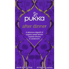 Pukka Teas After Dinner Tea, 20 Tea Bags