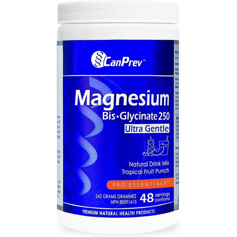 CanPrev Magnesium Bis-Glycinate Drink Mix