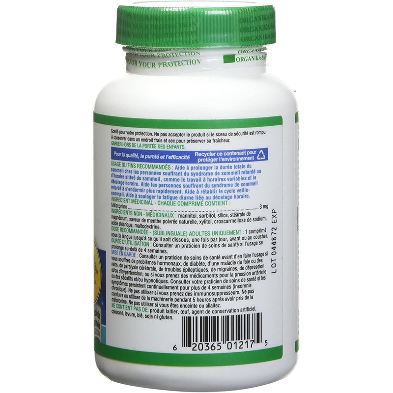 Organika Chewable Melatonin