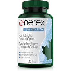 ENEREX - Heavy Metal Detox - Rich Source of Humic & Fulvic Acids, 60 capsules