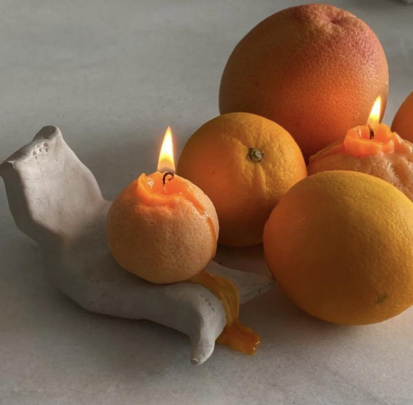Fruit Scented Candles Combo Set