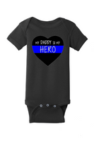 💙Daddy💙Hero Baby Onesie