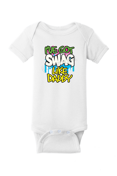 🧢Like Daddy🧢 Baby Onesie