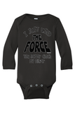 """The Force"" 🚀Baby Onesie"