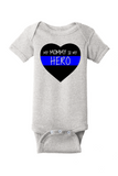 💙Mommy Hero💙 Baby Onesie