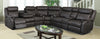Gin Rummy Charcoal Sectional