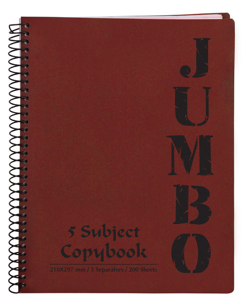 Jumbo Notebook Red ( 3, 5 Subjects )