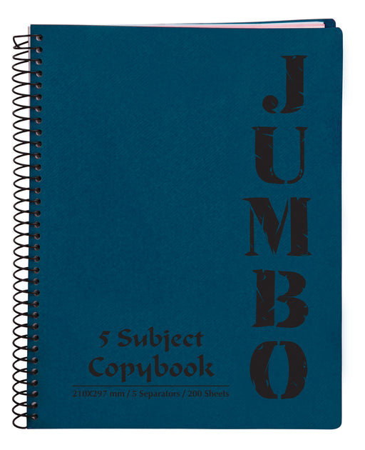 A4 Jumbo Notebook Blue ( 3, 5 Subjects )