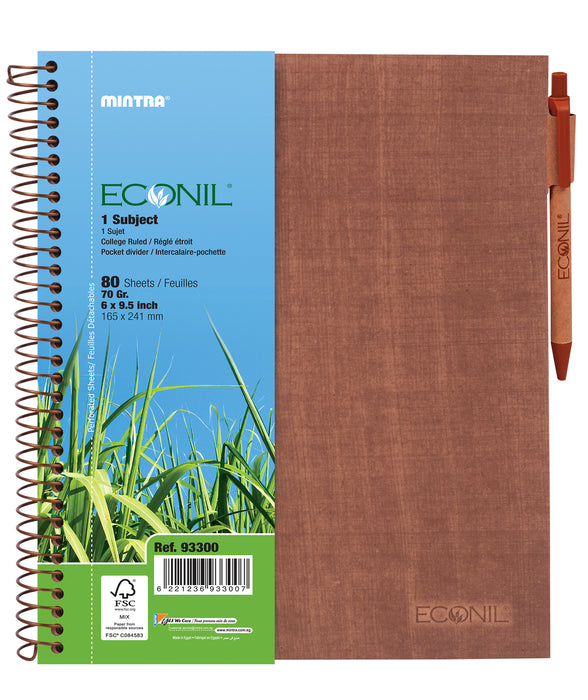 Econil Notebook (Different Sizes)