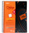 Orange Wave Notebook Lined (1, 3, 5 Subjects)