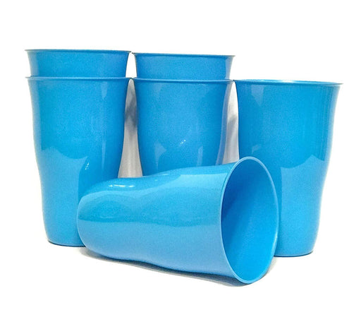 Plastic Cups 21 Ounce Tumbler (Pack of 6) mintra-shop.myshopify.com Blue