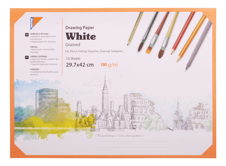 White Activity Sketching/ Drawing Paper A3 ( Different Paper Thickness )