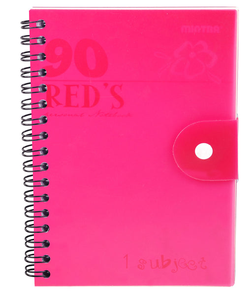 90's Notebook Pink (Different Sizes Available)