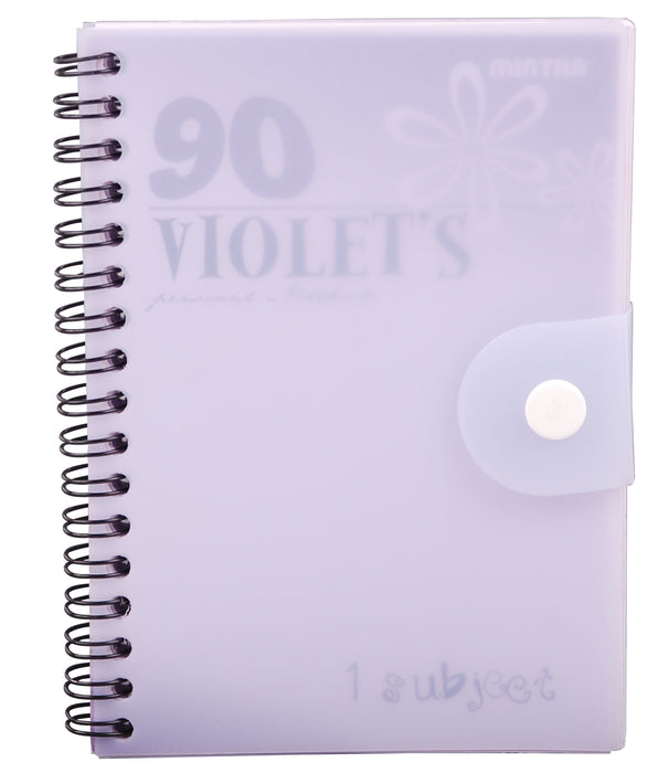 90's Notebook Violet (Different Sizes Available)