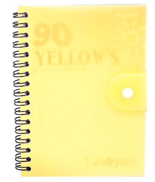 90's Notebook Yellow (Different Sizes Available)