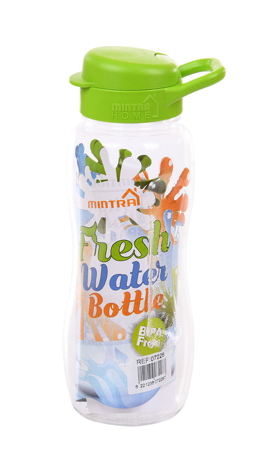 Water Bottle - 650 ml mintra-shop.myshopify.com Light Green