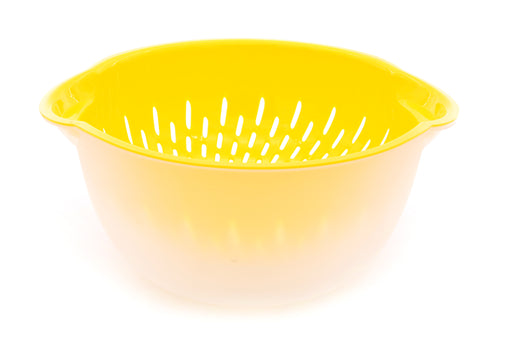 Mixing Bowl & Colander mintra-shop.myshopify.com Yellow