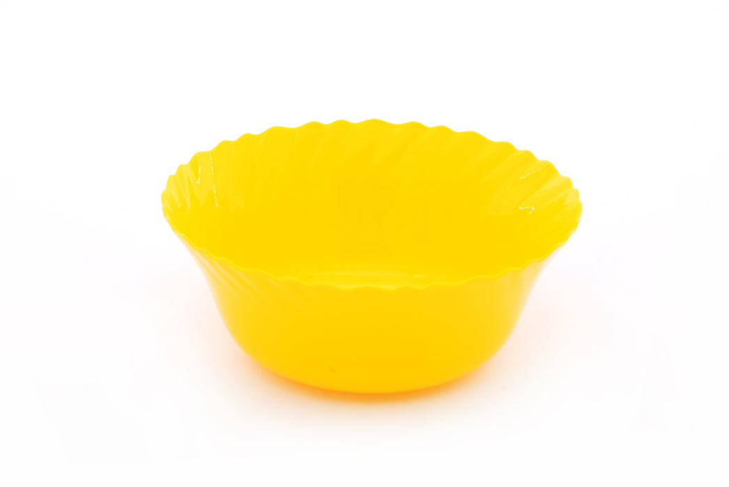 Curly Plastic Small Bowl (pack of 6)