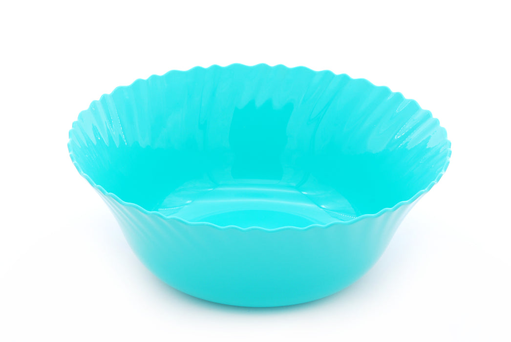 Curly Plastic Medium Bowl