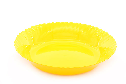 Curly Plastic Large Bowl