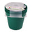 Round Pot 13 cm (Pack of 4) mintra-shop.myshopify.com Dark Green
