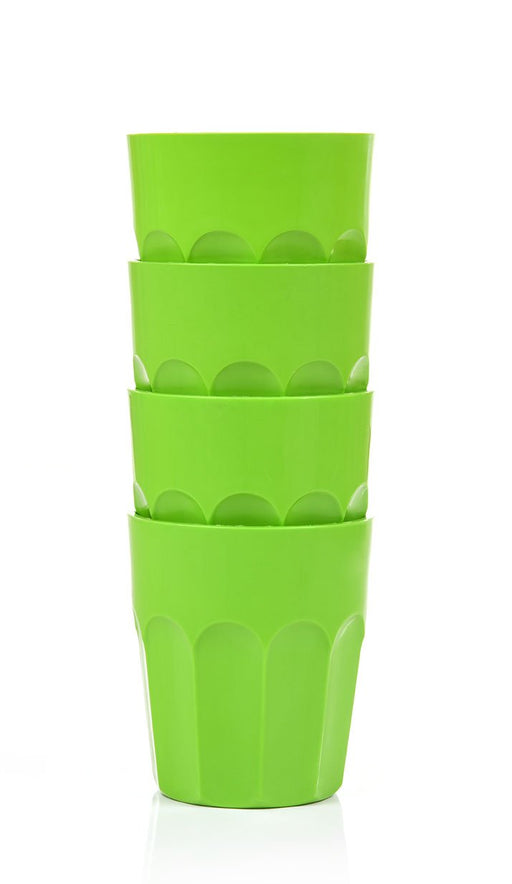 Unbreakable Plastic Cup 380 ml(Pack of 4)